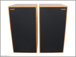 harbeth c7es3 speakers review 03 front with grilles