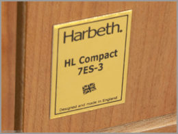 harbeth c7es3 speakers review 09 hl compact 7es 3 logo