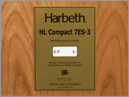 harbeth c7es3 speakers review 10 hl compact 7es 3 label