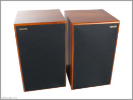 harbeth m30.1 speakers review 03 front with grilles