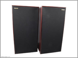 harbeth shl5 plus speakers review 03 front with grilles
