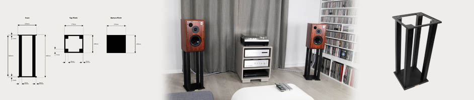 Harbeth Speaker Stands DIY Project