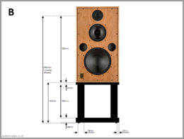 harbeth m40.1 m40.2 speaker stands diy wooden open frame 02 measurments