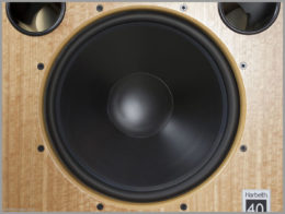 harbeth m40.1 speakers review 09 monitor 40.1 woofer