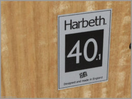 harbeth m40.1 speakers review 11 harbeth monitor 40.1 label