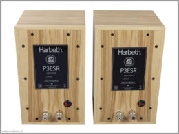 harbeth p3esr speakers 40th anniversary review 05 back