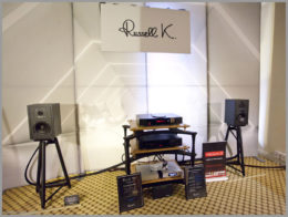 bristol hifi show 2020 13 russell k black 50 speakers