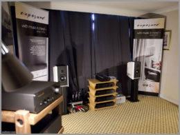 bristol hifi show 2020 16 kudos titan 505 speakers