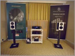 bristol hifi show 2020 33 definitive technology demand series speakers