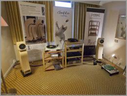 bristol hifi show 2020 42 curvi bmr speakers