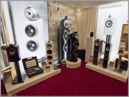 bristol hifi show 2020 45 b w speakers stand