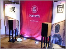 bristol hifi show 2020 47 harbeth c7es3 xd speakers