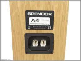 spendor a4 speakers review 10 speaker terminals