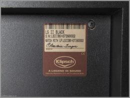 klipsch la scala ii speakers review 08 klipsch la scala rear label